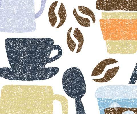 Coffee Illustrationコーヒーイラスト 珈琲 イラスト カフェイラスト イラスト