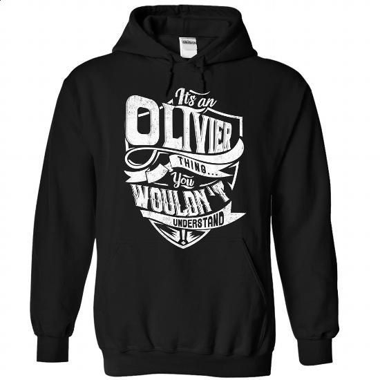 OLIVIER Thing - #personalized sweatshirts #long sleeve tee shirts. GET YOURS => https://www.sunfrog.com/Camping/1-Black-86666999-Hoodie.html?id=60505