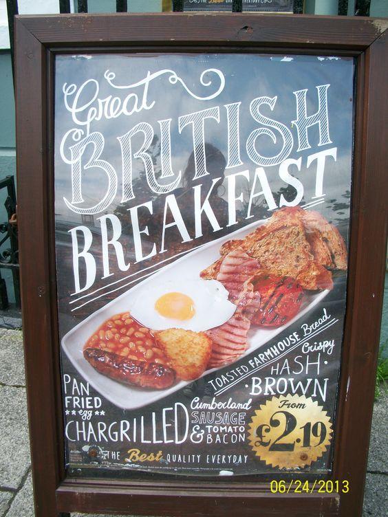 ~ full English breakfast ~ classic ~ The Full Monty