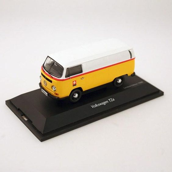SCHUCO VW BUS T2a PTT - www.cyan74.com - vintage & pop culture | SOLD