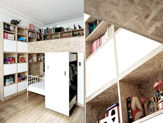 plywood room