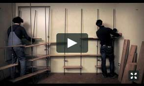 MinimumBook's assembly is simple and intuitive. If you watch our video you'll see how we mounted a large bookcase in just 30 minutes.