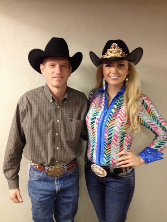 Miss Rodeo America herself! I love her shirt!
