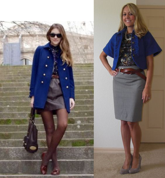 blue,camel,grey  My combo today except grey tights & flats/blue dress/camel coat