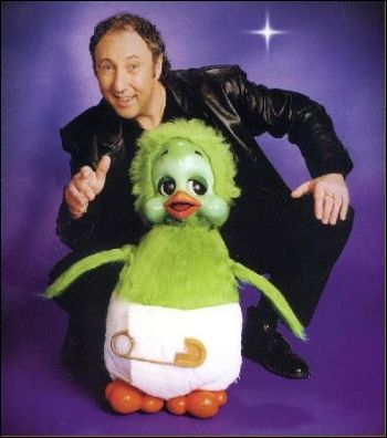Orville and Keith Harris. I had the toy which was a puppet and I sadly went to see a concert too think it was in Blackpool
