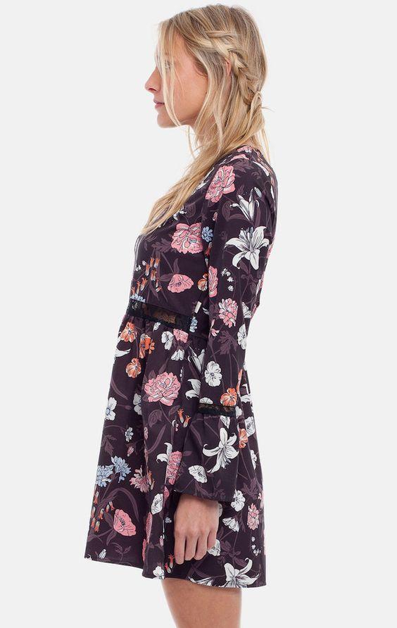 Rhythm Wallflower Dress - Frendz & Co.