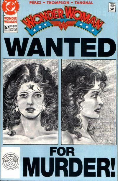 Wonder Woman #57 - Comic Book Cover