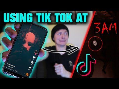 Scary Do Not Use Tik Tok At 3 Am Very Creepy Videos Youtube Creepy Gif Tik Tok Tok