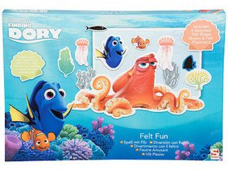 Disney Finding Dory Felt Fun Set Was £10.00 | Now £2.50 http://www.bucksme.com/product/disney-finding-dory-felt-fun-set/