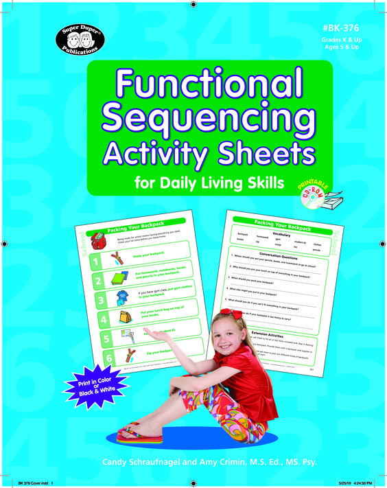 Functional Sequencing Activity Sheets For Daily Living