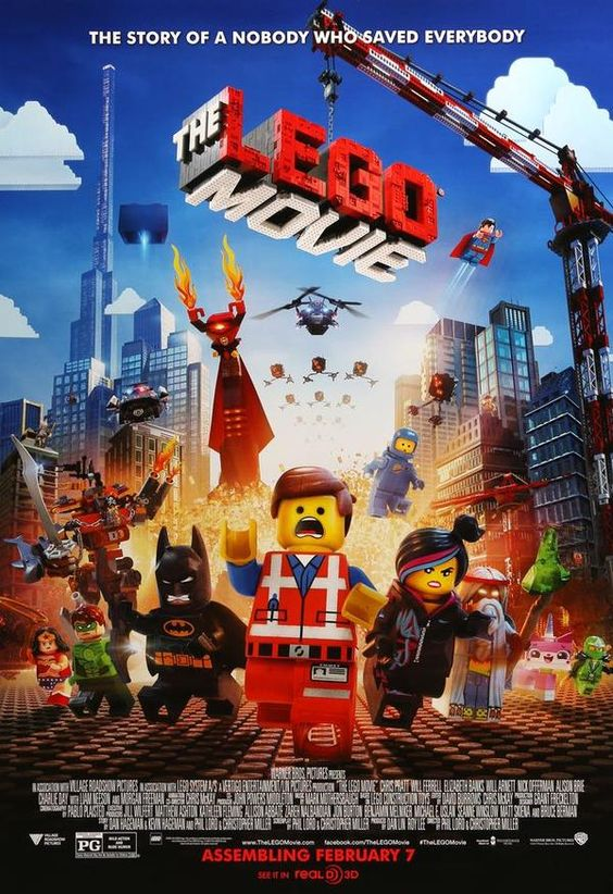 The Lego Movie (2014) One Sheet Movie Poster