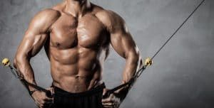 Cable Rotation for abs workout
