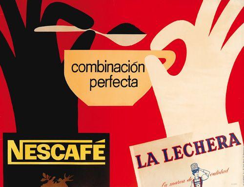 Nescafé advertising byJosep Pla-Narbona 1963