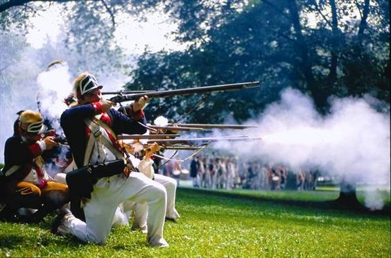 And since there is always a re-enactment on the anniversary of the Brandywine Battlefield, guest will be entertained by these guys while the Bridal Party takes photos and before Cocktail Hour starts
