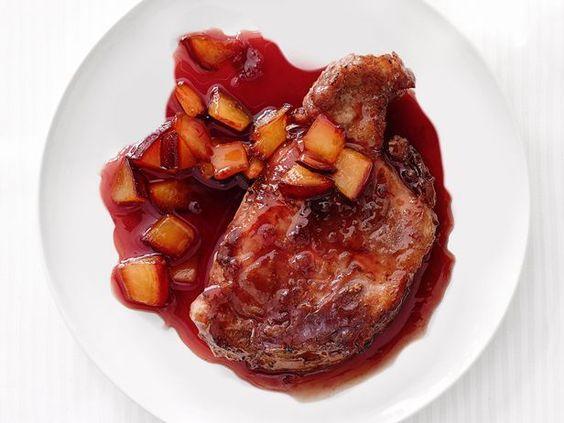 Pork With Plum Sauce #Fruit #Protein #MyPlate