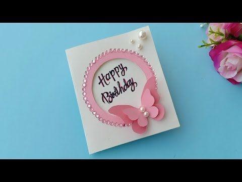 Cute Easy Birthday Greeting Card Idea Handmade Easy Card