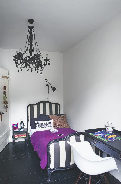 This Monochrome Ornate Bed Is A Great Example Of How To Create Sophisticated Children S Bedroom