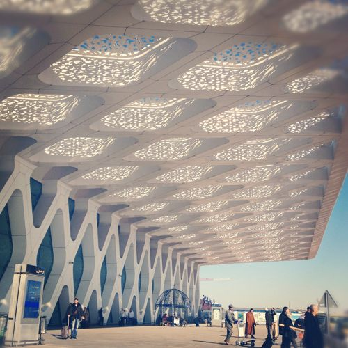 Morocco. photo by susannah conway.: Marrakech Airport, Airport Morocco, Inspirational Design, Marrakech Morocco, Airport Marrakech, Beautiful Airport, Morocco Airport