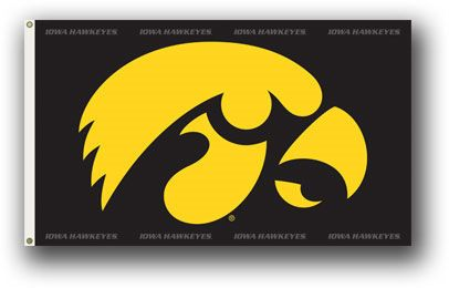 Iowa Hawkeyes Flag • NCAA Licensed – $19,00 FREE Shipping • Flags is quality Polyester and Nylon with grommets. • 3 ft x 5 ft – With double stitching around edges. • Flag can be used inside or out. • New - unused in original factory packaging • Usually ships within 72 hours or less with tracking. • Satisfaction guaranteed or your money back. We accept all Major credit cards, PayPal, Money orders, • We offer no pick-ups – we sell from our website Sportsworldwest.com