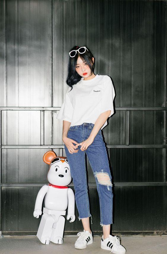 Moda coreana: 20 Looks coreanos para se inspirar e copiar – Crescendo aos Poucos