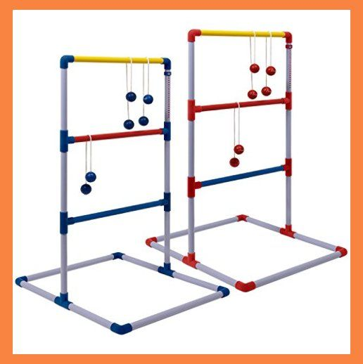 Champion Sports Deluxe Outdoor Ladder Ball Game Backyard Party Camping Beach Games Ladder Golf Set For Adu Ladder Golf Golf Games For Kids Ladder Golf Game