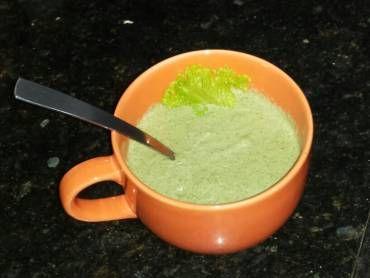 Faça a receita de Sopa de alface rapidinha Com certeza vai ser um sucesso na sua casa. Surpreenda-se com os elogios Sopa de alface rapidinha Imprimir Autor