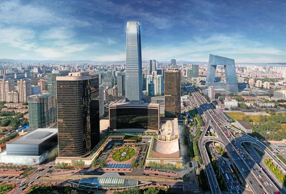 China World Trade Centre by 5+design in Beijing, China