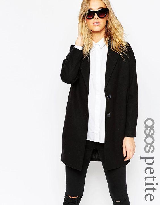 ASOS PETITE Ultimate Cocoon Coat