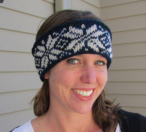 Easy Fair Isle Headbands pattern by Diana Jordan | Fair isles ...