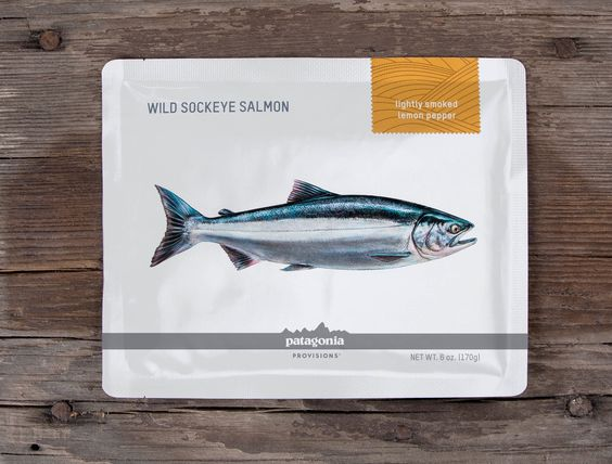 Patagonia Salmon — The Dieline