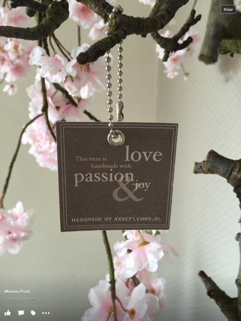 Zijden bloesemboom, magnoliaboom op echte fruittak.