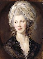 Queen Charlotte of England and Hanover, previously Charlotte of Mecklenburg-Strelitz. She was the wife of George III, the mother of both George IV and William IV and the grand-mother of Queen Victoria.