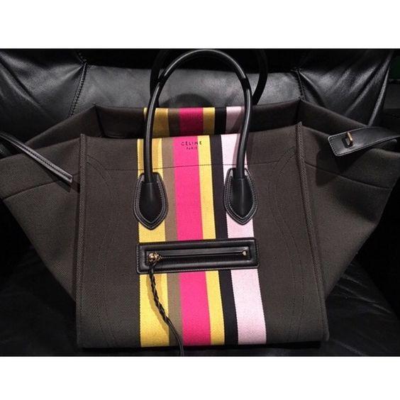 authentic celine phantom luggage tote black