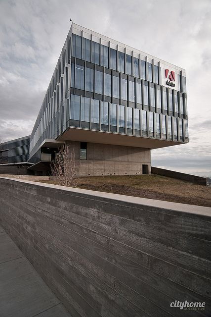 Curtain Wall Louvers : Adobe utah technology campus architecture curtain wall