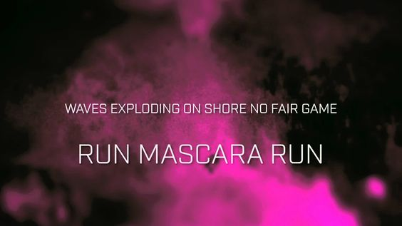 The Raveonettes - Run Mascara Run (Official Lyric Video)