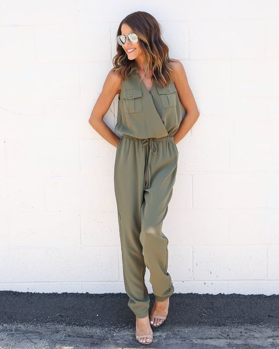 In The Army Jumpsuit