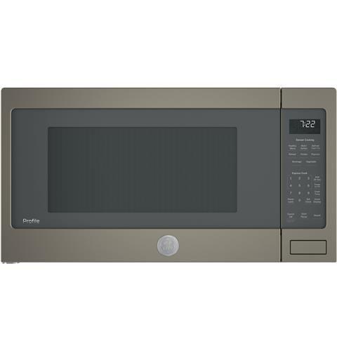 Ge Profile Series 2 2 Cu Ft Countertop Sensor Microwave Oven 439 Countertop Microwave Countertops Ge Microwave