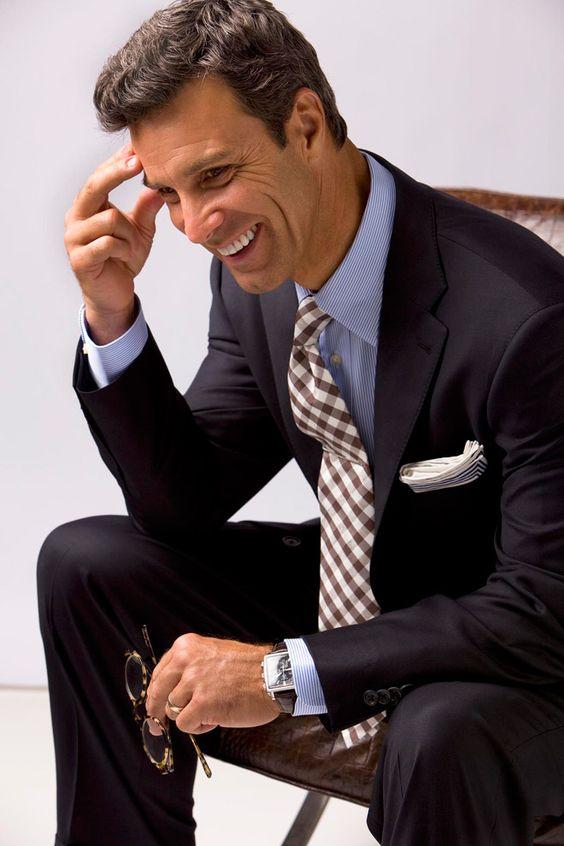 Faça seu estilo no Atelier das Gravatas - atelierdasgravatas.com.br ... chambray shirt & gingham tie
