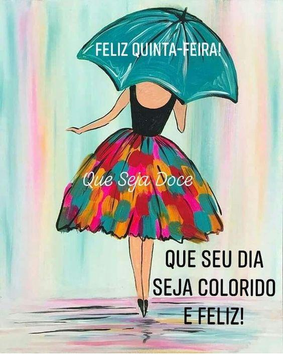 Que seu dia seja colorido e feliz. a satisfação de vivencia mais…