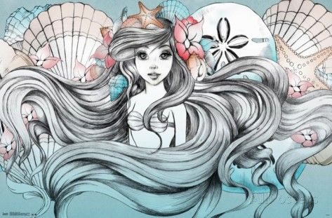 Ariel - Land Or Sea poster