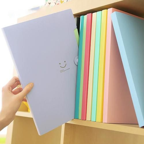 A4 Waterproof File Folder 5 Layers Office School Document Bag