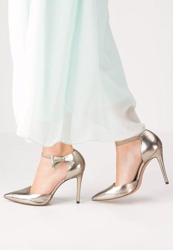 Hier schmücken hübsche Details deine Füße. Pura Lopez High Heel Pumps - metal alba für 199,95 € (28.09.16) versandkostenfrei bei Zalando bestellen.
