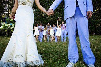 wedding group poses