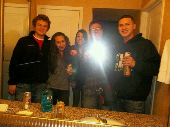 The magical night that started our adventures (; New Year's 2012