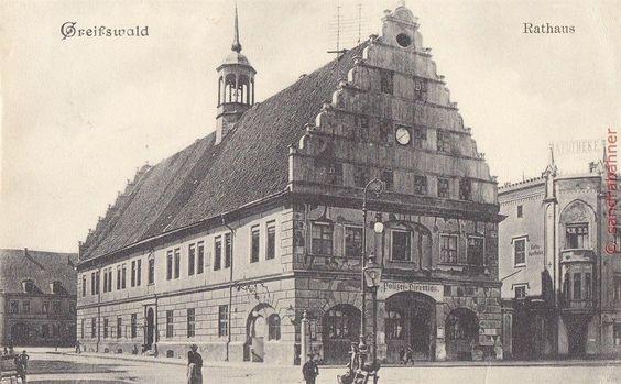 AK Greifswald. Rathaus, 1909 | eBay