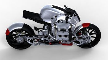 KickBoxer motorcycle concept - Click above for high-res image gallery