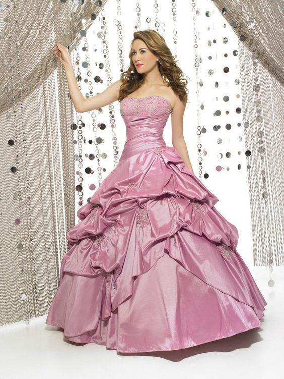 Sweetheart Ruffles/Applique Lace-up Quinceañera Ball Gown | Ball ...