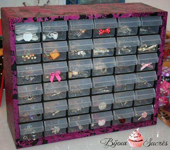 boite rangement fimo bijoux astuces rangement pinterest fimo et bricolage. Black Bedroom Furniture Sets. Home Design Ideas