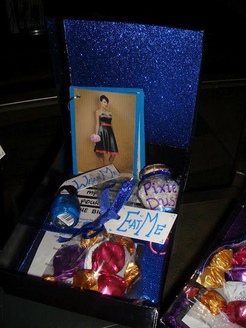 {Disney Wedding} World of Color Bridesmaids Gift Boxes