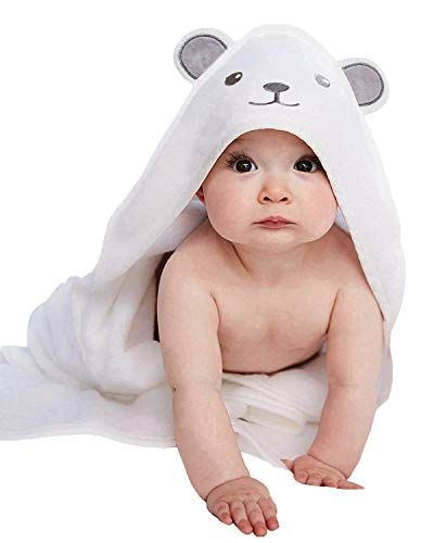 2 Pack Hooded Baby Towels For Boys Girls Soft Cotton Infant